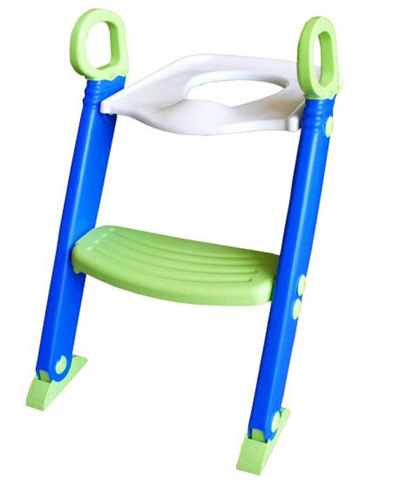 Bambino Step Toilet Trainer (Blue/Green)