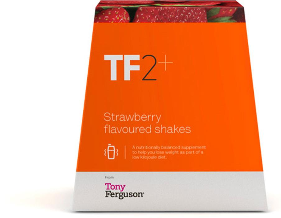 Tony Ferguson TF2+ Shake (Strawberry) X 8
