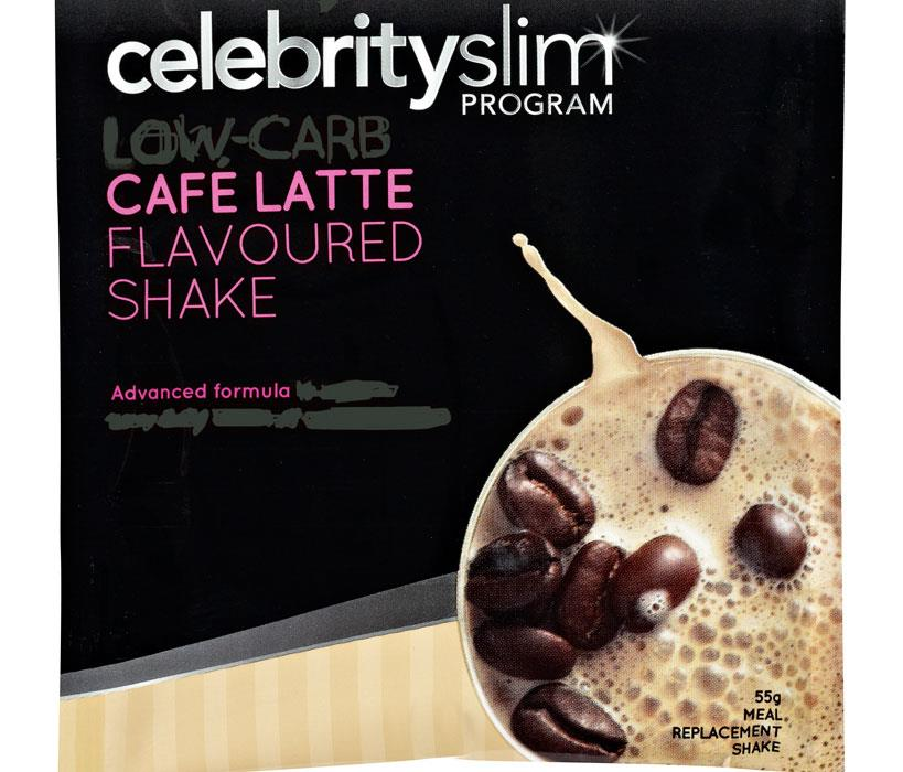 Celebrity Slim Shake Sachet Cafe Latte 55g X 12
