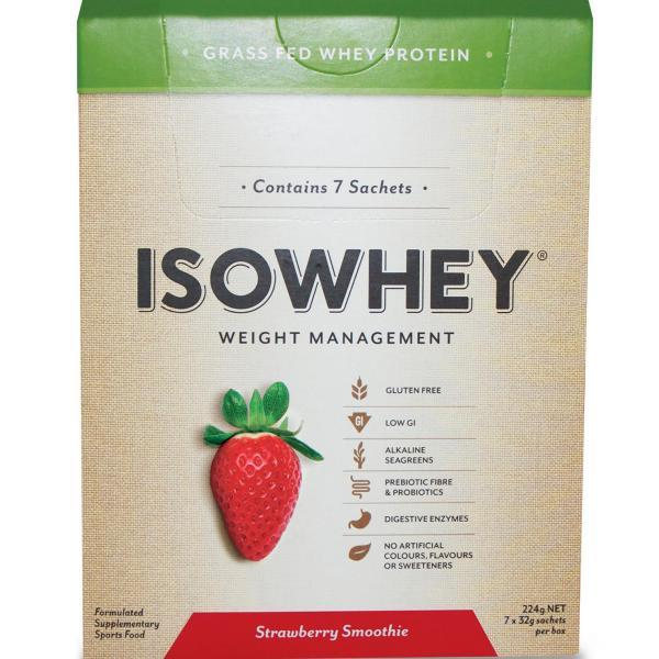 IsoWhey Complete Weight Loss – Strawberry Smoothie 32g X 7