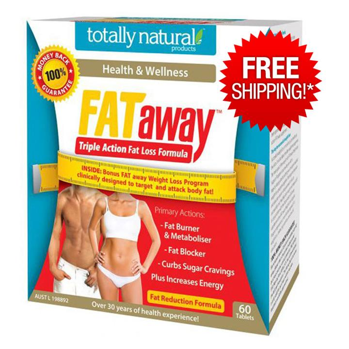 Totally Natural Fat Away Triple Action Tab X 60