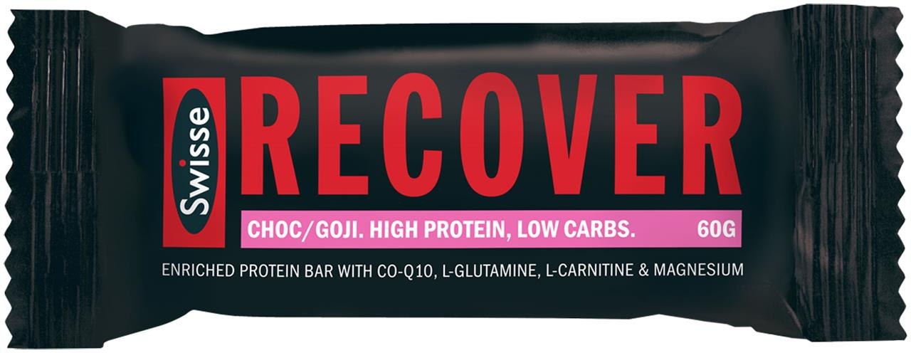Swisse Active Recover Protein Bar Chocolate & Goji Berry 60g X 12