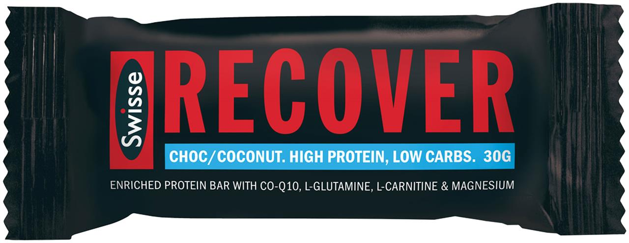 Swisse Active Recover Protein Bar Chocolate & Coconut 30g X 12