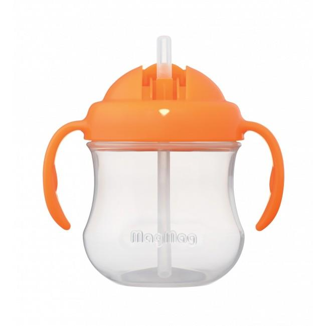 Pigeon Mag Mag Straw Cup – Orange