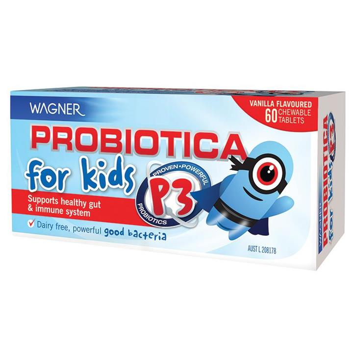 Wagner Probiotica P3 For Kids Tab X 60