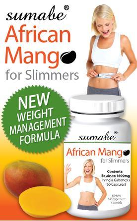 Sumabe African Mango For Slimmers Cap X 60