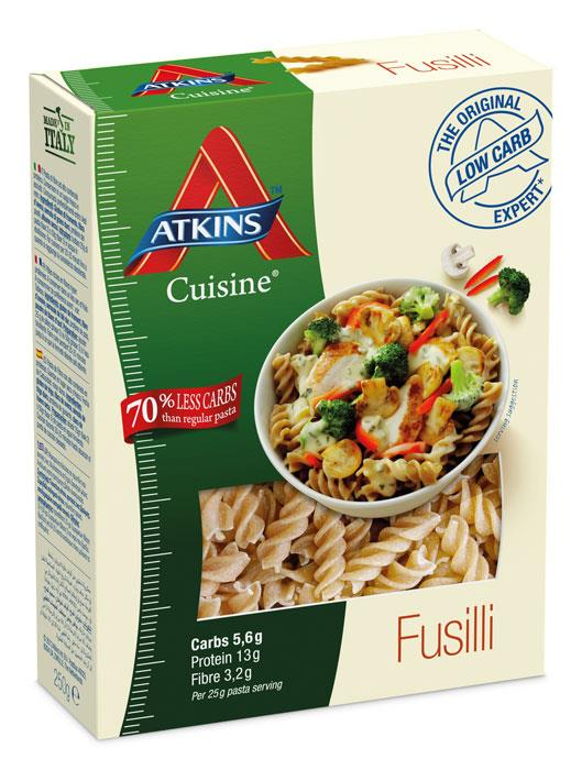 Atkins Cuisine Low Carb Fusilli 250g