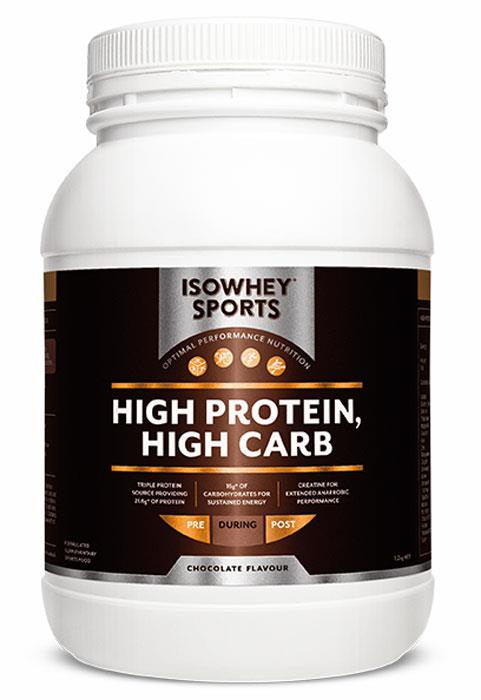 IsoWhey Sports High Protein High Carb Formula (Chocolate) 1.2kg (Best Before 04/2016)