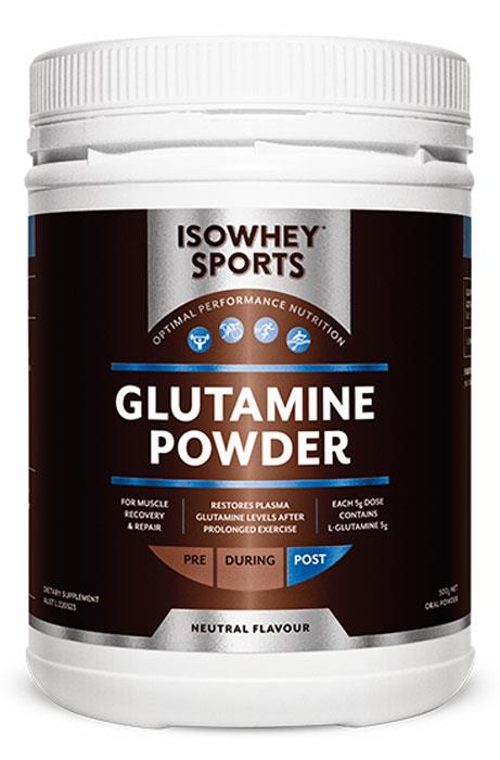 IsoWhey Sports Glutamine Powder 500g