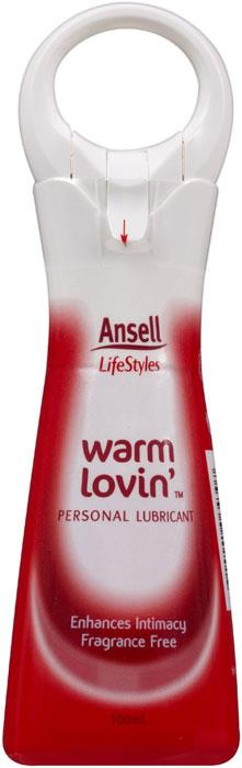 Ansell Lifestyles Warm Lovin' Glycerin Based Personal Lubricant 100ml