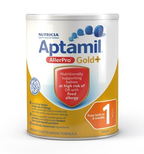 Aptamil Gold Plus AllerPro 1 Infant Formula (0-6 Months) 900g