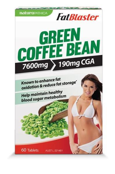 FatBlaster Green Coffee Bean Tab X 60