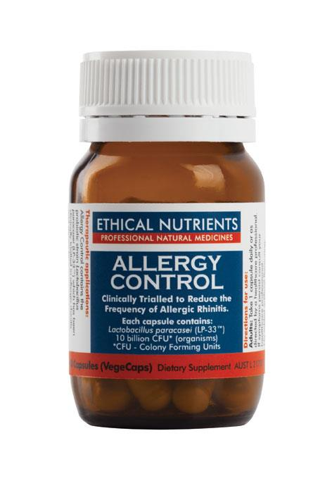 Ethical Nutrients Allergy Control Cap X 30 *Ref