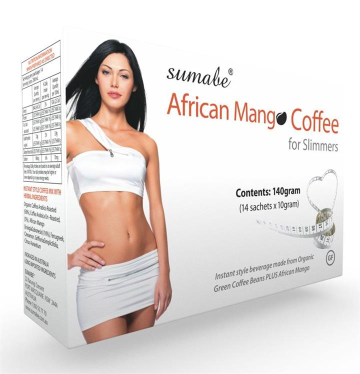 Sumabe African Mango Coffee For Slimmers Sachets 10g X 14 (Expiry 07/17)