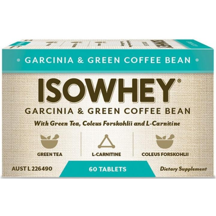 IsoWhey Garcinia & Green Coffee Bean Tab X 60