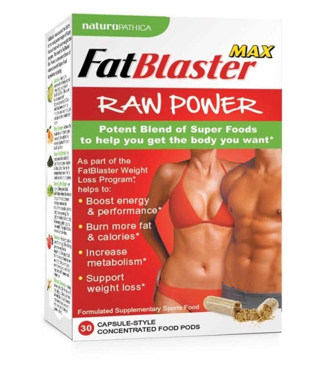 FatBlaster Max Raw Power Cap X 30
