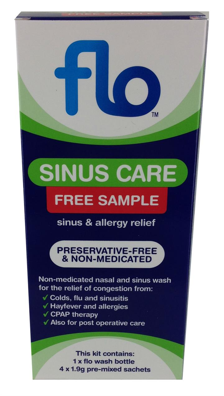 FREE Flo Sinus Care Free Sample (Max 1 per order)*