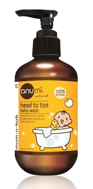 anumi Head to Toe – Baby Wash 250ml