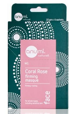 anumi Coral Rose – Firming Masque (10g X 6 Sachets)
