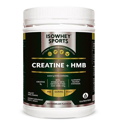 IsoWhey Sports Creatine + HMB (Watermelon Flavour) 250g