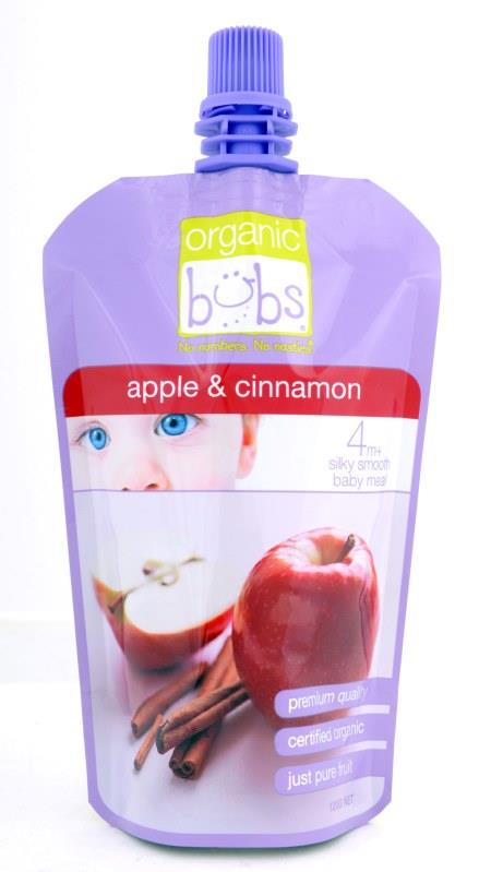 Bubs Apple & Cinnamon 120g