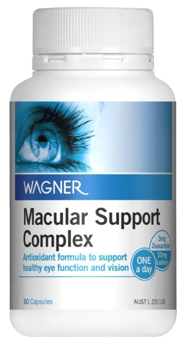 Wagner Macular Support Complex Cap X 60