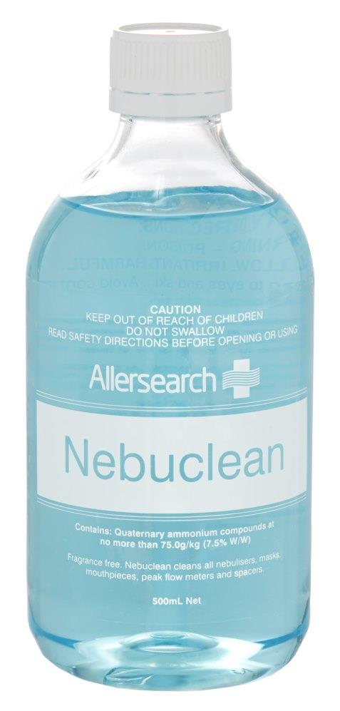 Allersearch Nebuclean Cleanser 500ml
