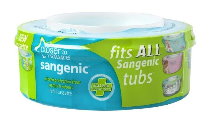 Tommee Tippee Closer to Nature Sangenic Fits All Tubs Refill Cassette