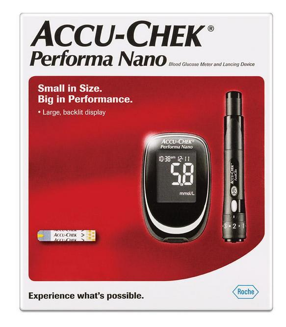 Accu-Chek Performa Nano Blood Glucose Meter And Lancing Device Kit (Up to $40 Cash Back)*