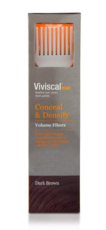 Viviscal Volume Dark Brown Hair Fibers (Male) 15g