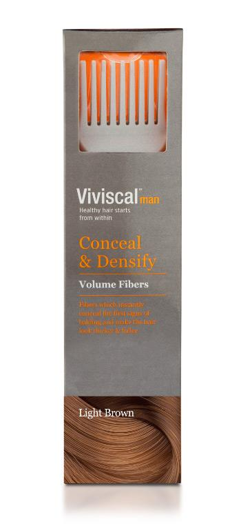 Viviscal Volume Light Brown Hair Fibers (Male) 15g