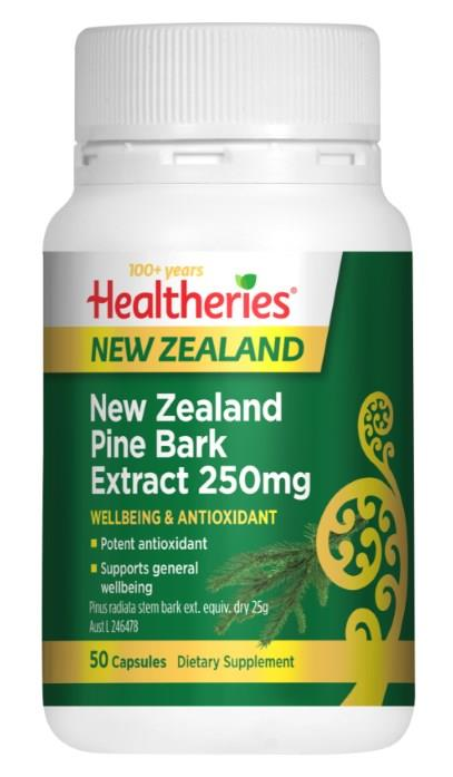 Healtheries Pine Bark Extract 250mg Cap X 50