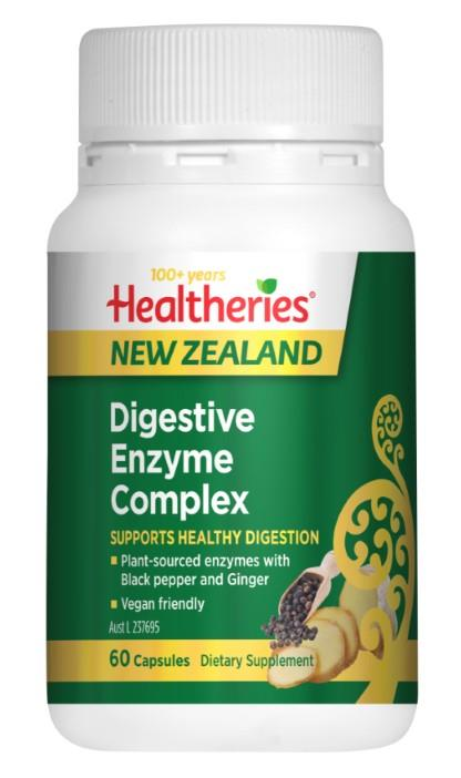 Healtheries Digestive Enzyme Complex Cap X 60