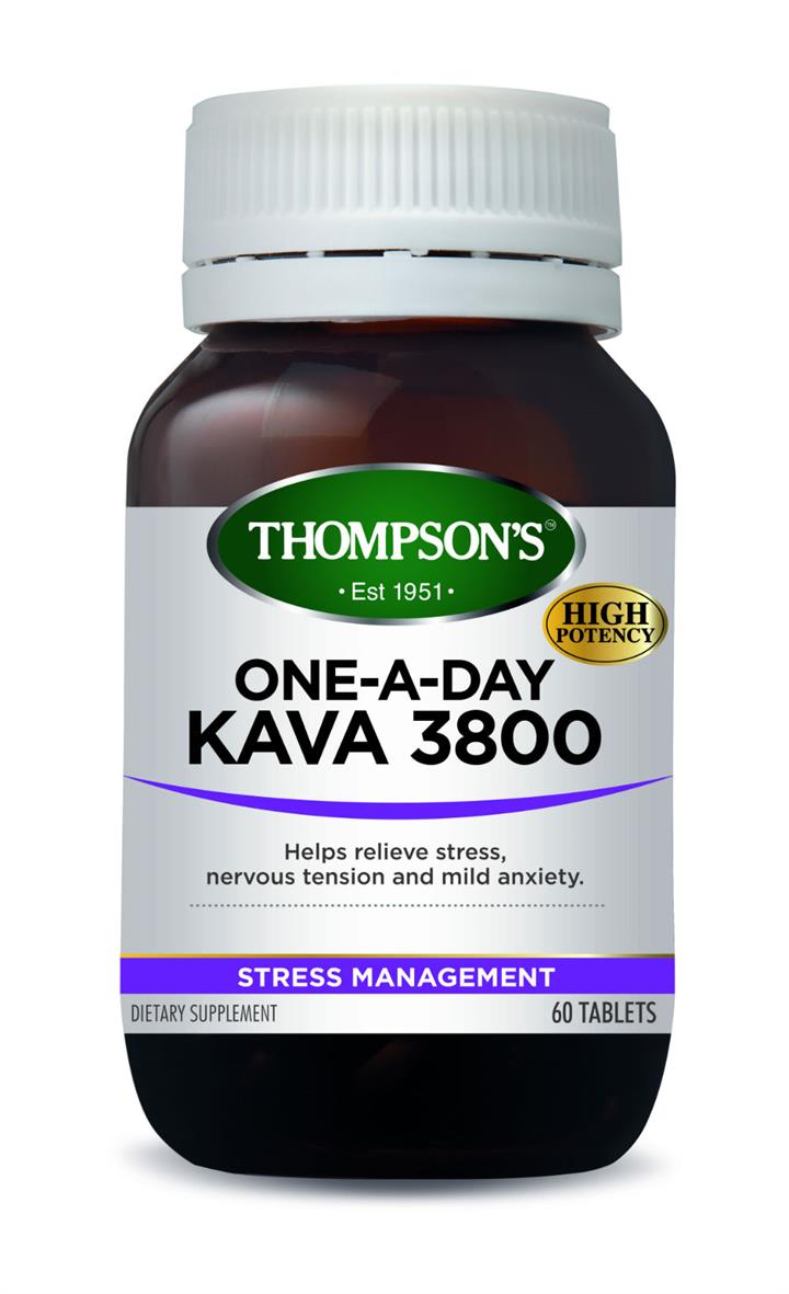 Thompson's One-A-Day Kava 3800mg Tab X 60