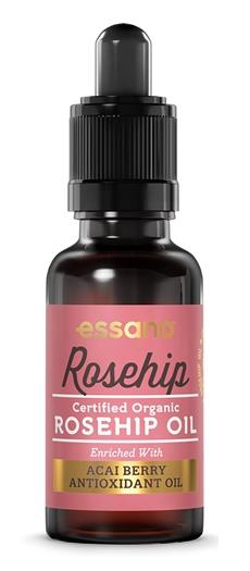 Essano Rosehip Oil (Certified Organic) with Acai Berry Antioxidant Oil 20ml (Expiry June 2017)