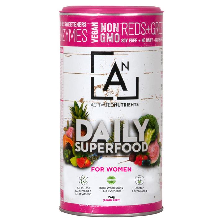 Activated Nutrients Daily Superfood for Women