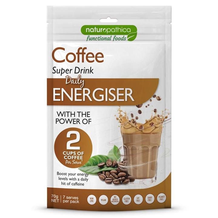 Naturopathica Functional Foods Coffee Super Drink Energiser 70g
