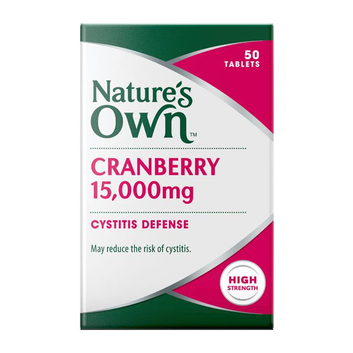 Nature's Own Cranberry 15000mg Tab X 50