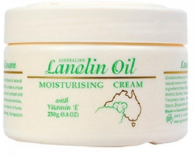 G&M Lanolin Oil Moisturising Cream 250g
