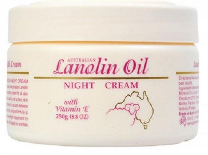 G&M Lanolin Oil Night Cream 250g