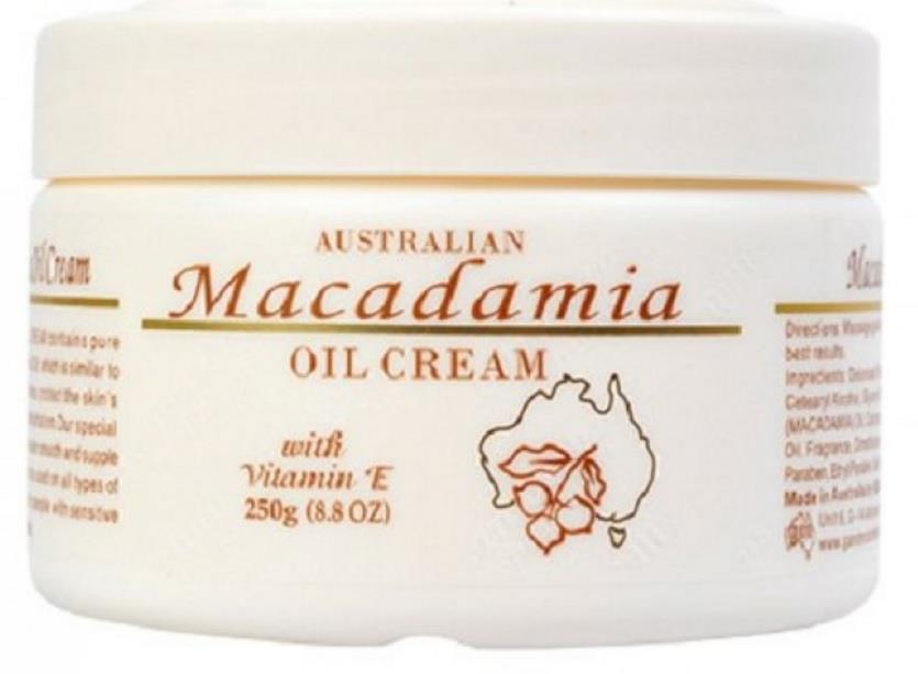G&M Macadamia Oil Cream 250g