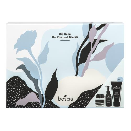 Boscia Dig Deep – The Charcoal Skin Kit (Limited Edition)