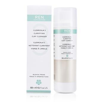 Ren Clearcalm 3 Clarifying Clay Cleanser 150ml/5.1oz Skincare