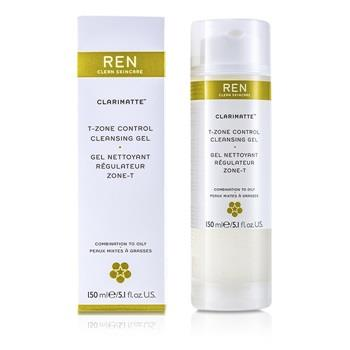 Ren Clarimatte T-Zone Control Cleansing Gel (For Combination To Oily Skin) 150ml/5.1oz Skincare
