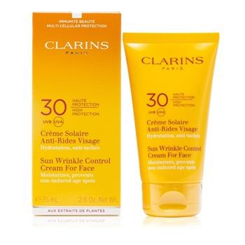 Clarins Sun Wrinkle Control Cream Very High Protection SPF30 – For Sun Sensitive Skin 75ml/2.7oz Skincare
