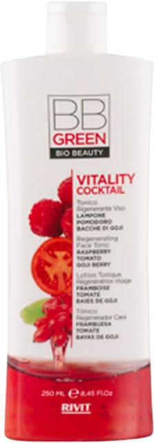 BB Green Vitality Cocktail Regenerating Face Tonic 250ml