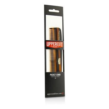 Uppercut Deluxe CT5 Pocket Comb - # Tortoise Shell Brown 1pc Hair Care