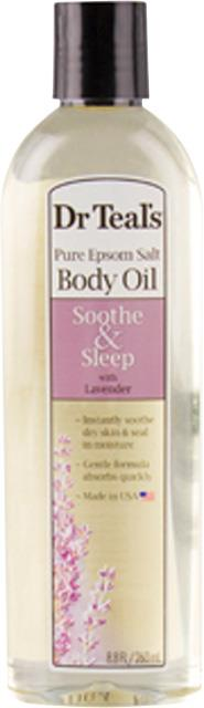 Dr Teals Body Oil Lavender 260ml