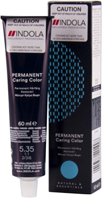 5.35 Indola Professional Permanent Caring Colour 60ml - Light Brown