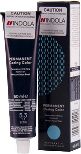5.3 Indola Professional Permanent Caring Colour 60ml - Light Brown